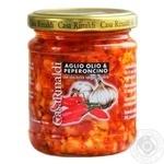 Соус Casa Rinaldi с чесноком маслом и острым перцем 190г - купить, цены на Novus - фото 1