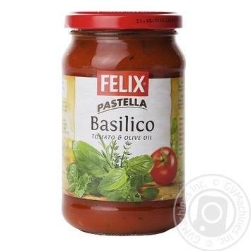 Соус томатний з базиліком до макаронів пастеризований Felix 360г - купить, цены на Novus - фото 1