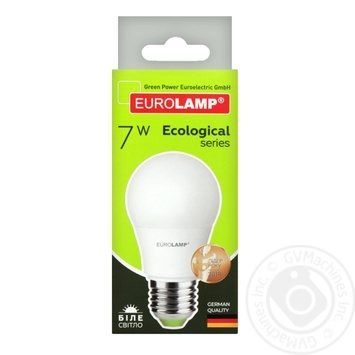 Лампа светодиодная Eurolamp LED E27 7W 4000K - купить, цены на Ашан - фото 5
