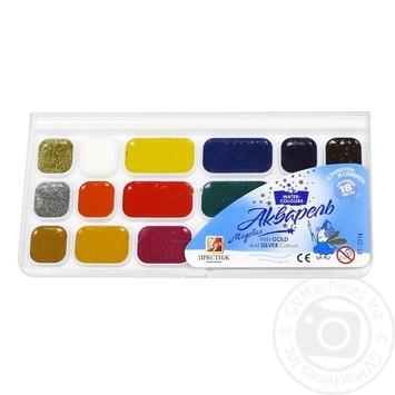 Фарба акварель Луч 18 кольорів Пр.без пензлика 18С1232-08 - купить, цены на Novus - фото 1