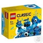 Конструктор Lego кубики для творчества синие