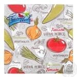 Салфетки бумажные Tissueclub Овощи трехслойные 33х33см 20шт