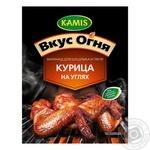 Смесь для маринада для шашлыка и гриля Kamis Курица на углях 20г
