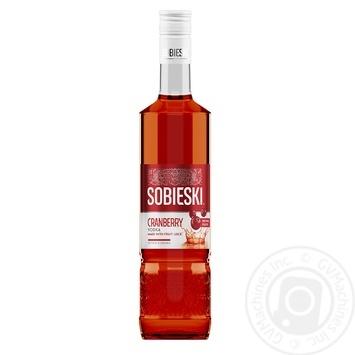 Sobieski Cranberry vodka 37,5% 0,5l - buy, prices for Novus - image 1