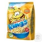 Сніданок сухий Bona Vita зернові кільця з медом 375г