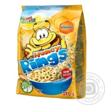 Dry breakfast Bona vita Private import honey 375g - buy, prices for Novus - image 1