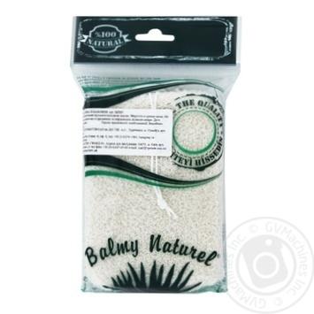 Губка Balmy Naturel из хлопка - купить, цены на Novus - фото 1