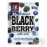 Ovsianushka Milk Oat Porridge with Black Berries 60g