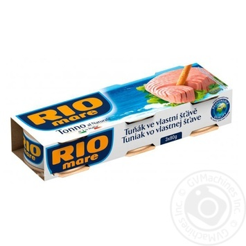 Fish tuna Rio mare in own juice 240g can - buy, prices for Novus - image 1
