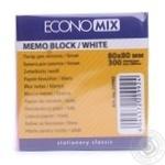Бумага для заметок EconoMix 80X80мм