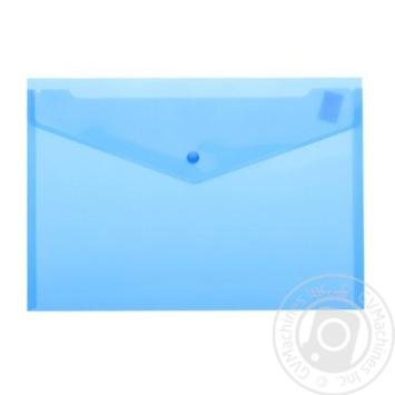 Папка-конверт Economix А4 на кнопці - купити, ціни на Метро - фото 1