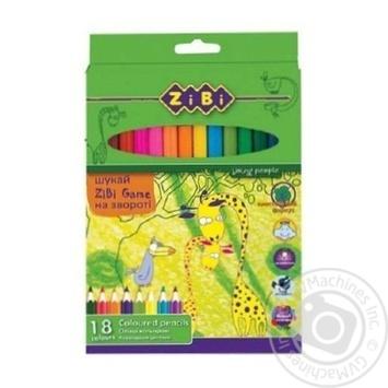 Карандаши ZiBi цветные 18 цветов - купить, цены на СитиМаркет - фото 3