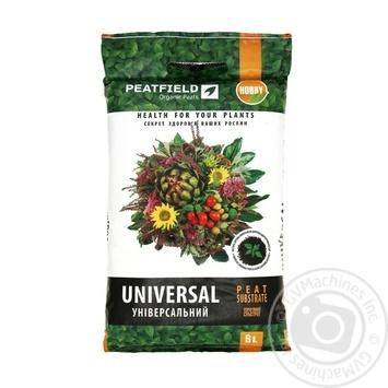 Субстрат торфяный Peatfield универсальный 6л - купить, цены на Таврия В - фото 1