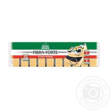 Губки кухонные Domi Economico 10шт - купить, цены на Фуршет - фото 2