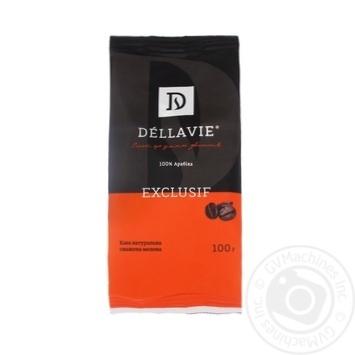 Кофе Dellavie Exclusive молотый 100г
