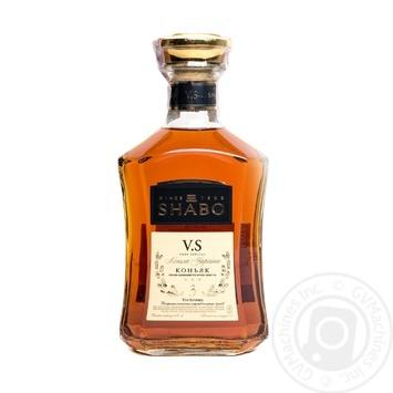 Shabo V.S. 3 stars cognac 40% 0,5l - buy, prices for Novus - image 1