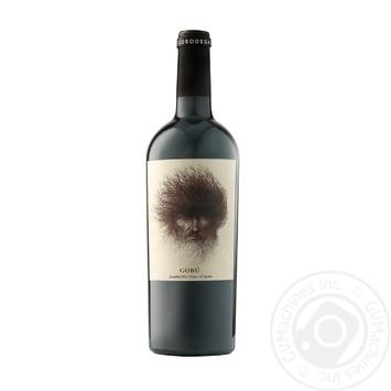 Вино Ego Bodegas Goru красное сухое 14% 0,75л - купить, цены на МегаМаркет - фото 1