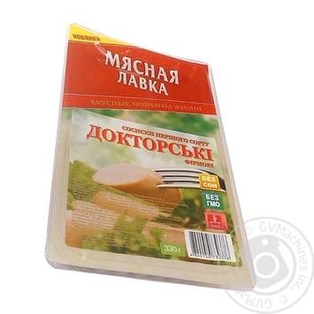 Сосиски Мясная Лавка Докторские фирменные классические 1с 330г - купить, цены на Novus - фото 1