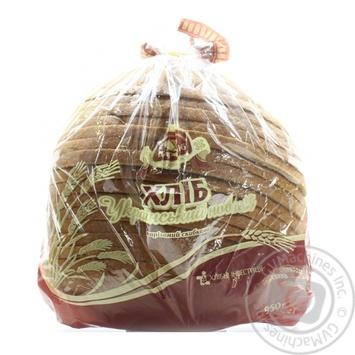 Хлеб Царь Хлеб Украинский нарезной в упаковке 0,95кг - купить, цены на Novus - фото 1