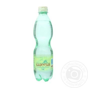 Вода Набеглаві сильногазована лікувально-столова пластикова пляшка 500мл Грузія - купити, ціни на Novus - фото 1