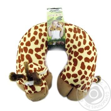 Подушка для шиї, в наборі з маскою для сну.Розміри: 30*28*9см Koopman