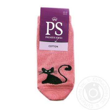 Носки Premier Socks женские укороченные р23-25