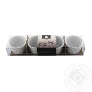 Plate Koopman for snacks 4pcs 60mm - buy, prices for Novus - image 1