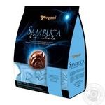 Конфеты Vergani Sambuca с кремовой начинкой из ликера в молочном шоколаде 200г
