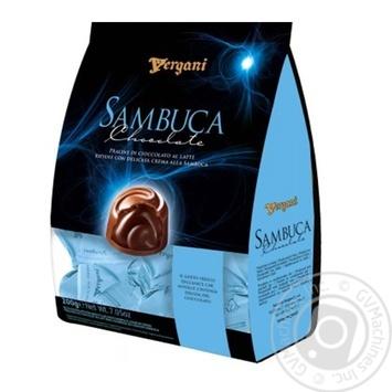 Vergani Sambuca With Cream Liqueur Filling In Milk Chocolate Candies 200g