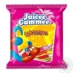 Цукерки Juicee Gummee Черв'ячки жувальні 80г