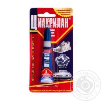Ciacrylan E Super Glue 2g - buy, prices for CityMarket - photo 1