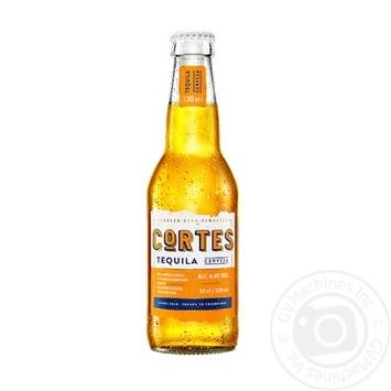 Пиво Кортес Текила светлое 6%об. 330мл - купить, цены на Novus - фото 1