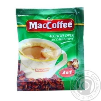 Напиток кофейный МакКофе 3в1 Лесной Орех растворимый в стиках 18г Сингапур - купить, цены на Novus - фото 1