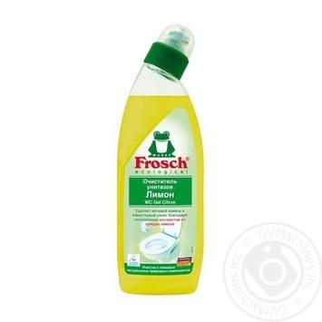 Гель для чистки унитазов Frosch Лимон 750л - купить, цены на Novus - фото 1