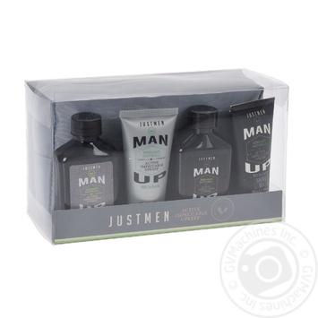 Набір для чоловіків (гель для душу 75мл лосьон для тіла 50мл шампунь 75мл гель для гоління 50мл) 1шт - купити, ціни на Novus - фото 1