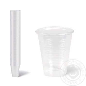Склянка одноразова Добробут 200мл 100шт 2 - купить, цены на Novus - фото 1