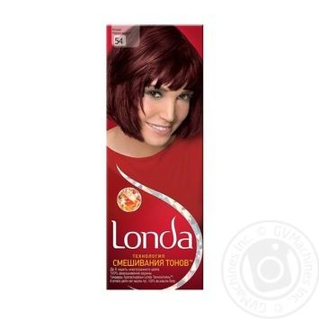 Фарба для волосся Londa Trend Сolor 54 Бордо - купить, цены на Novus - фото 1