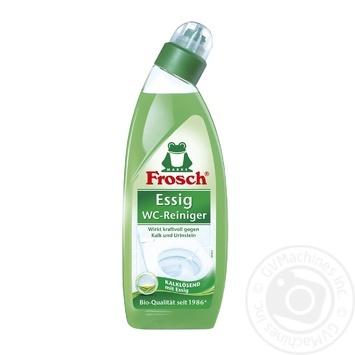 Чистящее средство Frosch Уксус для унитазов 750мл - купить, цены на Ашан - фото 2