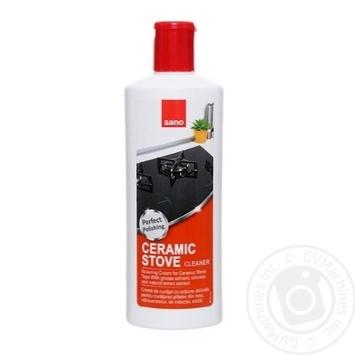 Засіб Sano для миття керамічних плит 300мл - купити, ціни на Novus - фото 1