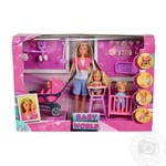 Кукла Simba Штеффи с детьми и аксессуарами 2 вида