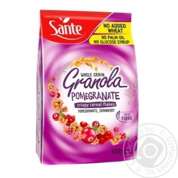 Пластівці злакові Granola з гранатом і чорницею 350г - купити, ціни на МегаМаркет - фото 1