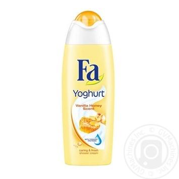 Гель для душа Fa Yoghurt Vanilla Honey Scent 750мл