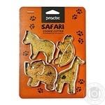Practic Safari Cookie Forms 4pcs
