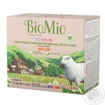 Порошок пральний BioMio BIO-COLOR концентрований екологічний гіпоалергенний  для кольорової білизни 30 прань 1,5 кг