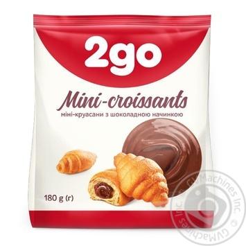 2go Croissant  chocolate filling mini 180g