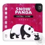 Туалетная бумага Снежная Панда Extra Care Aroma 4 слоя 4шт