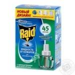 Жидкость от комаров Raid с эвкалиптом для электрофумигаторов 45 ночей 32.9мл