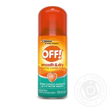 OFF! Smooth&Dry From Mosqouitoes Spray 100ml - buy, prices for Tavria V - image 1