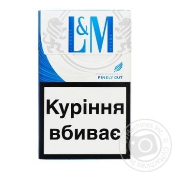 Сигареты L&M Blue Label 20шт