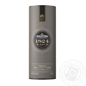 Angostura 1824 12 aged years rum 40% 0,7l - buy, prices for Novus - image 1